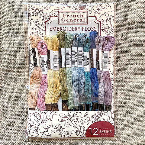 Embroidery Floss - Papillon Palette