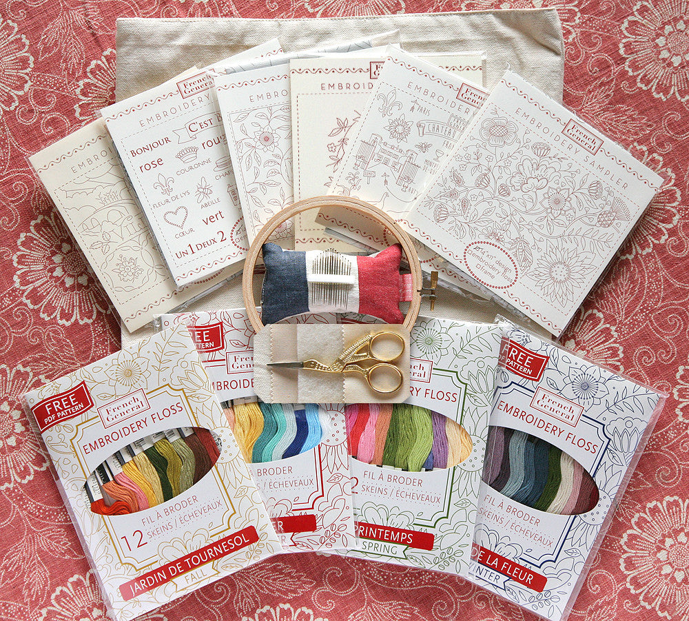 Deluxe Embroidery Kit