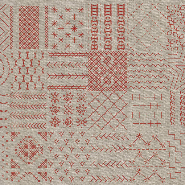 Broderie Francaise Embroidery Sampler Kit French General