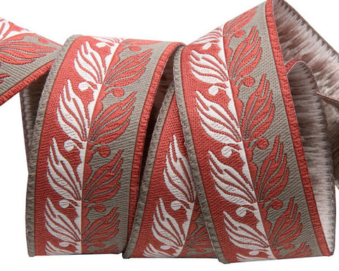 Renaissance Ribbon - Etkin Foliage / 2 yards