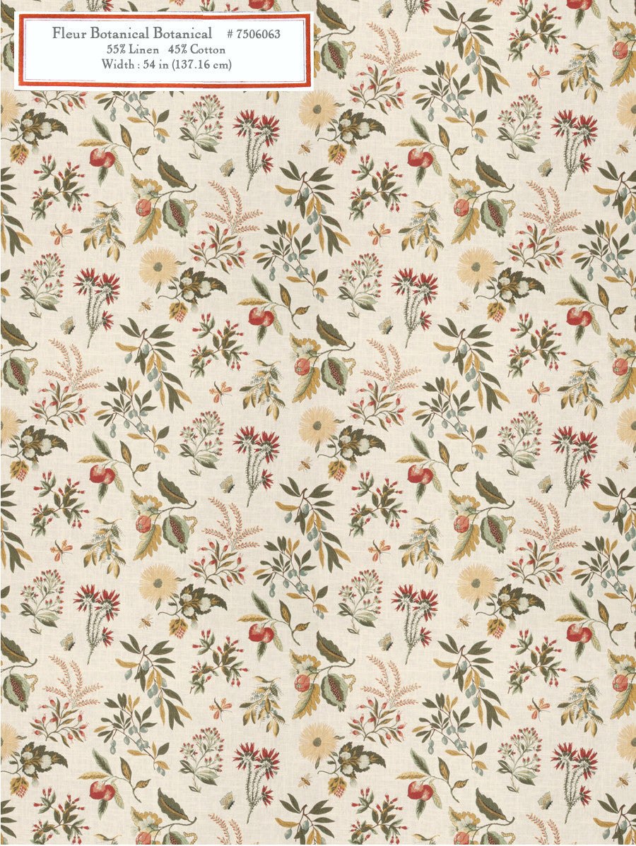 Home Decorative Fabric - Fleur Botanical Botanical