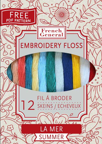 French General Embroidery Floss - Summer Palette