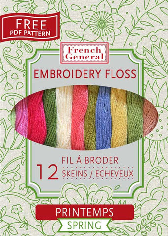 French General Embroidery Floss - Spring Palette