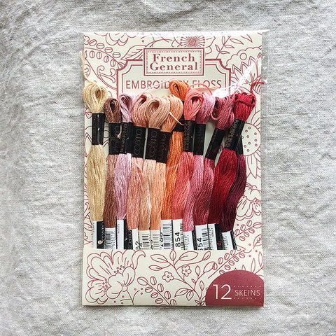 Embroidery Floss - Red Palette