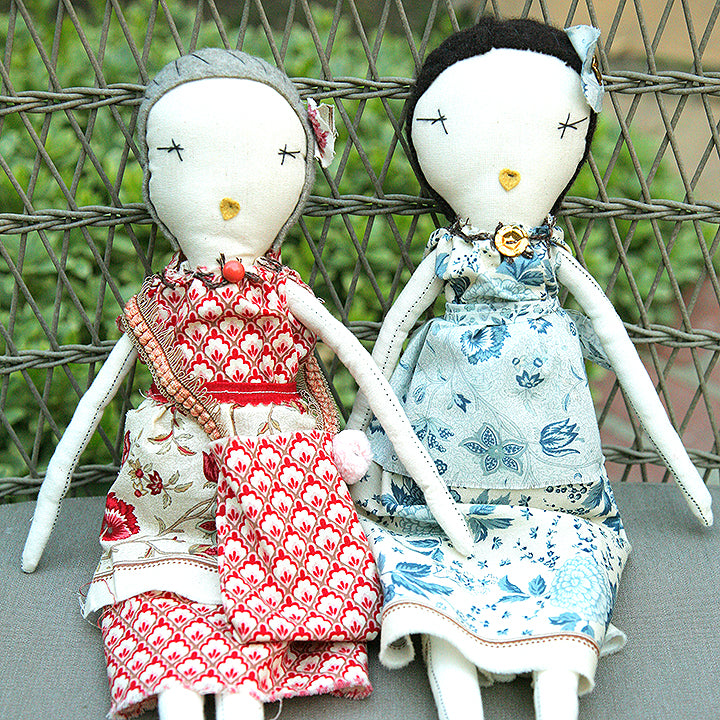 Live Zoom Workshop: Rag Doll Finishing with Jess Brown / Saturday, January 30th / 11-2pm Pacific Time