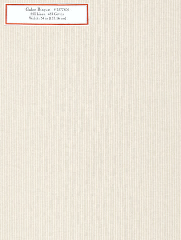 Home Decorative Fabric - Galon Bisque