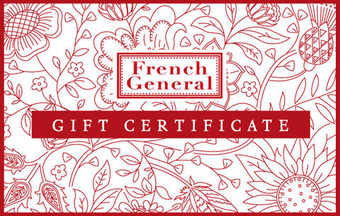 French General Gift Card