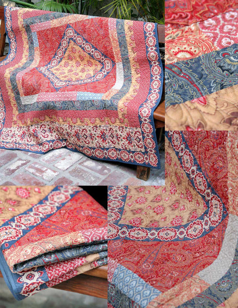 Rue Indienne Haute Bohemian Quilt Pattern French General