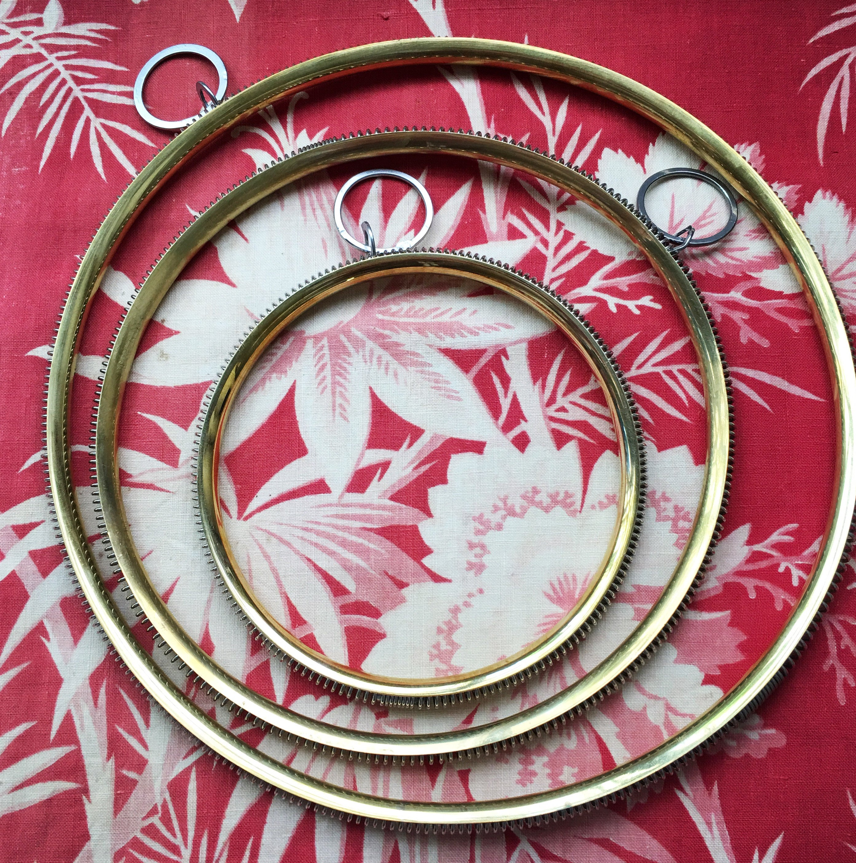 French Embroidery Hoop French General
