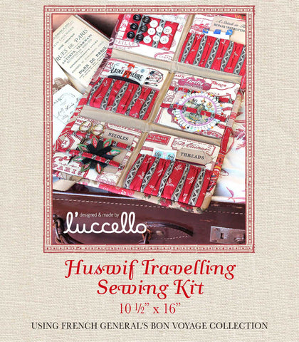 Bon Voyage - Huswif Travelling Sewing Kit Pattern