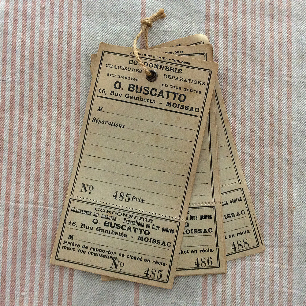 Antique French Labels - O. Buscatto