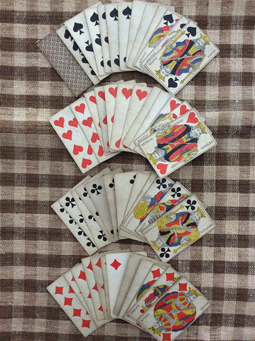 Antique French Playing Cards