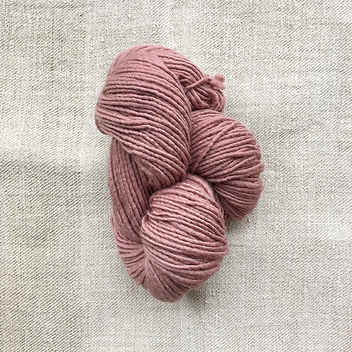 Burt's Blush Wool Skein
