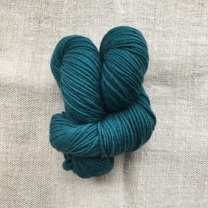 Teal Wool Skein