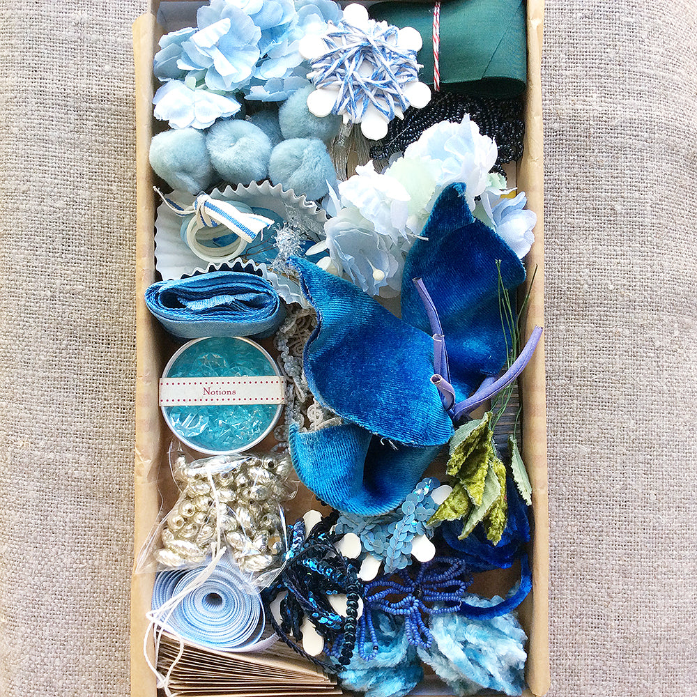 Decorating Kit - Vintage Blue