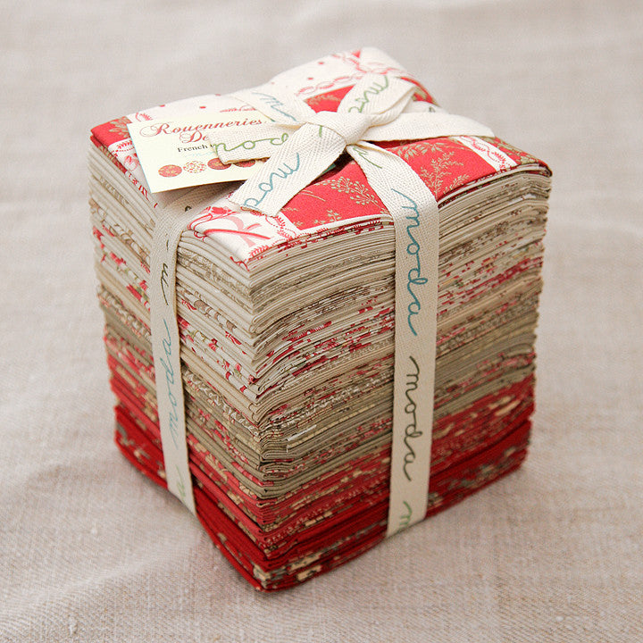 Moda Precut Special - Rouenneries Deux Fat Quarter Bundle