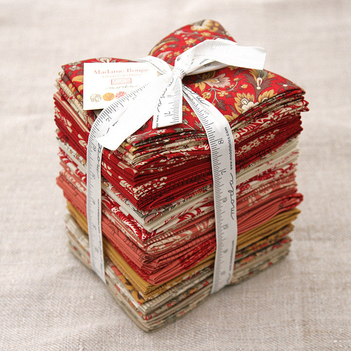 Moda Precut Special - Madame Rouge Fat Quarter Bundle