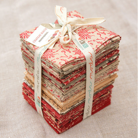 Moda Precut Special - Chateau Rouge Fat Quarter Bundle