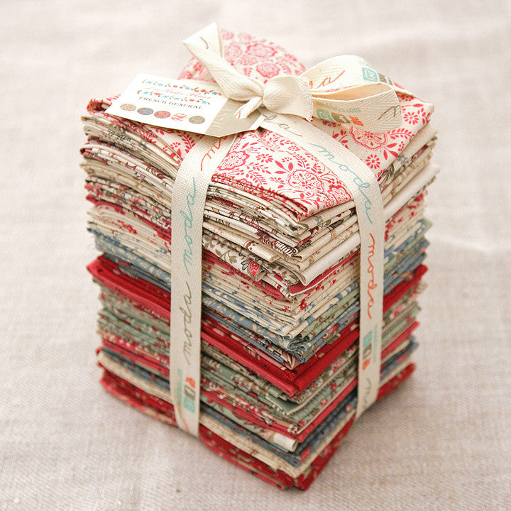 Moda Precut Special - La Belle Fleur Fat Quarter Bundle