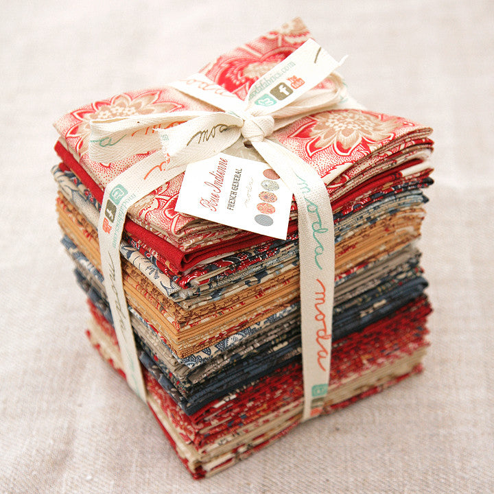 Moda Precut Special - Rue Indienne Fat Quarter Bundle
