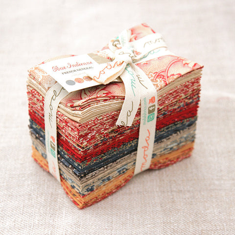 Moda Precut Special - Rue Indienne Fat Eighth Quarter Bundle