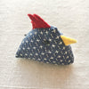 Indigo Chicken Pin Cushions
