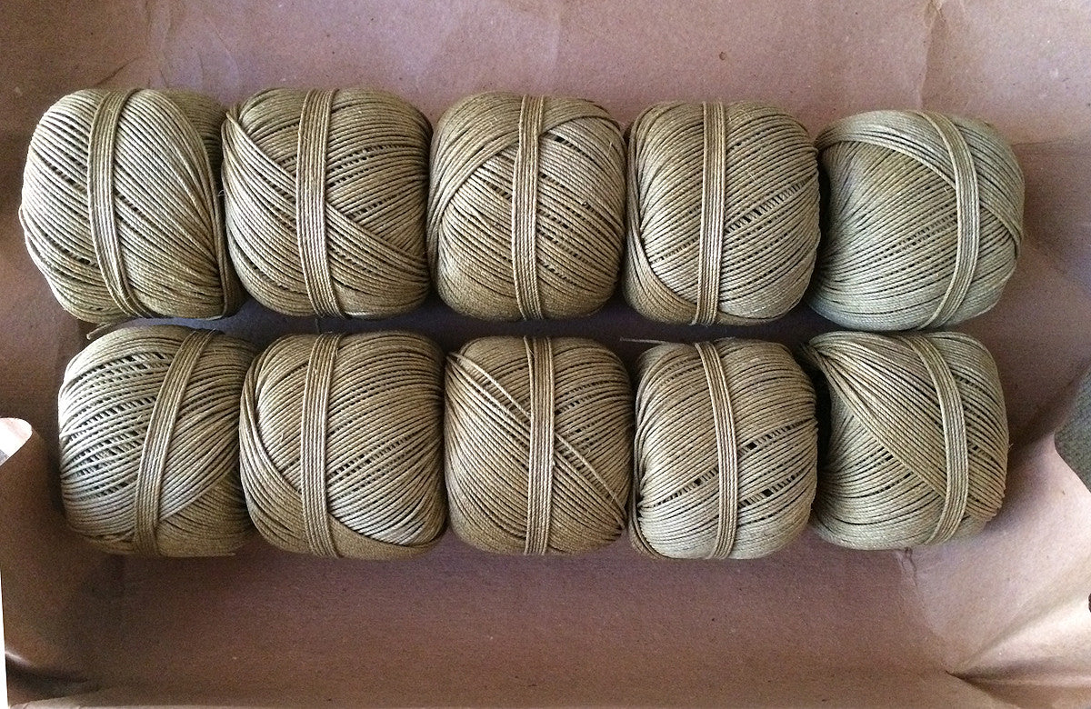 Antique Hemp Spool