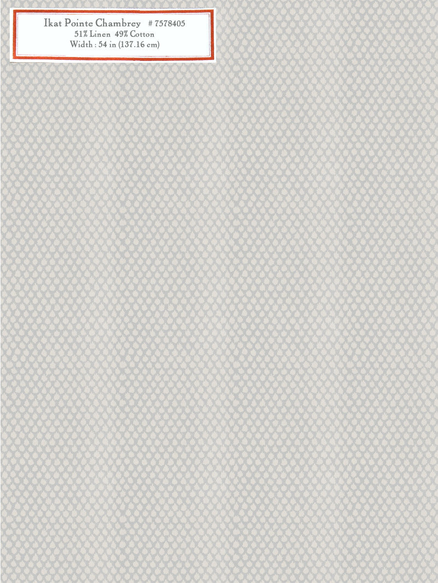 Home Decorative Fabric - Ikat Pointe Chambray