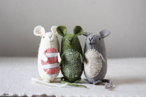 Tiny Mice Workshop with Ann Wood / Thursday, October 18th / 6-9pm