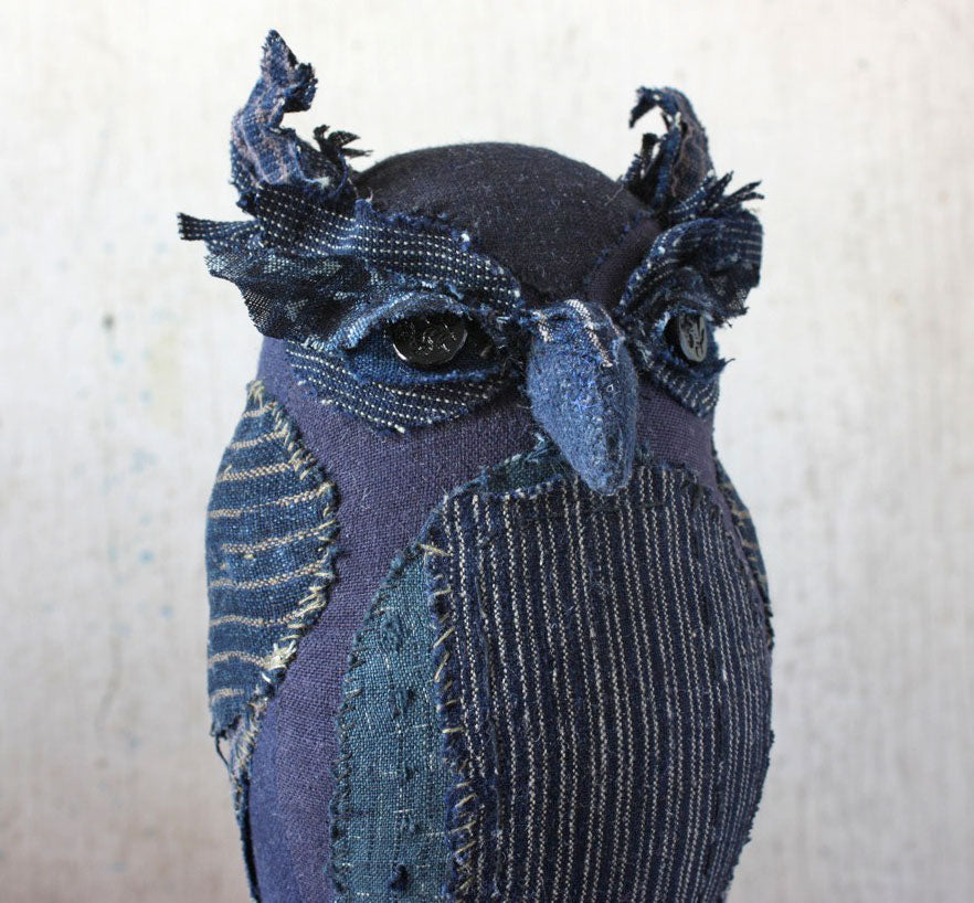 Hand-Stitched Owl with Ann Wood / Saturday and Sunday, October 20th and 21st / 10-4pm SOLD OUT