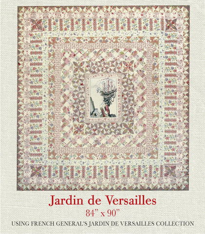 French general patterns page 2 french general - Le petit jardin quilt pattern calais ...