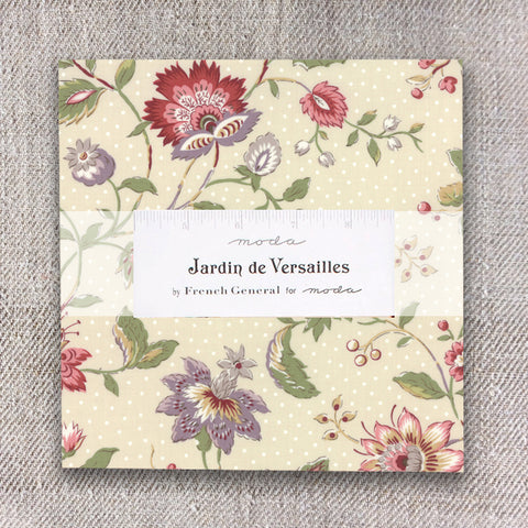 Moda French General Jardin De Versailles Layer Cake