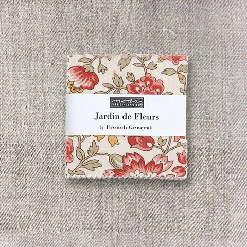 Jardin de Fleurs Mini Charm Pack - Pre-Order March 2021 Delivery