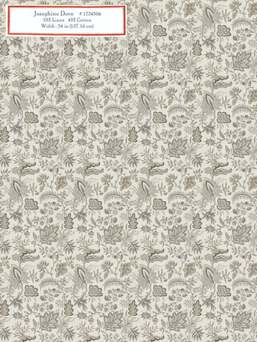 Home Decorative Fabric - Josephine Dove