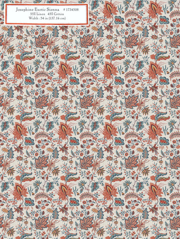 Home Decorative Fabric - Josephine Exotic Sienna