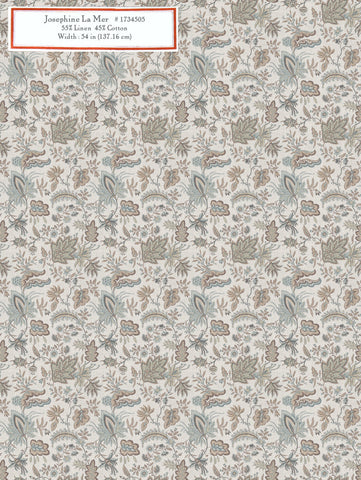 Home Decorative Fabric - Josephine La Mer