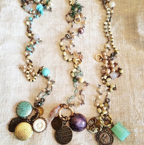 McKinney  Workshop - Deconstructed Jewelry Workshop / Saturday, October 22nd 2016