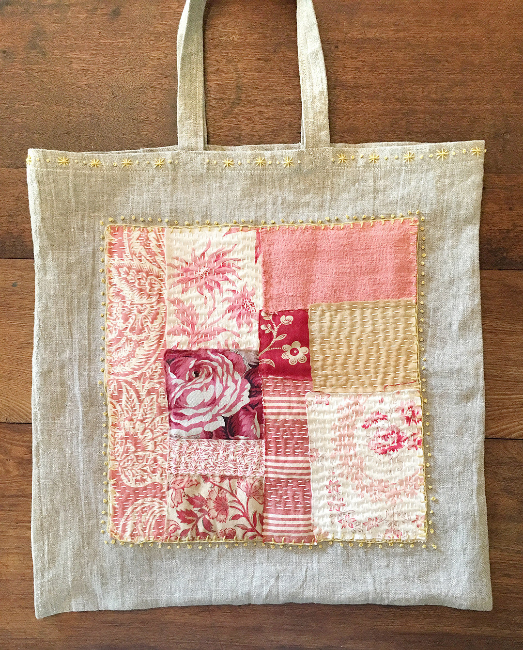 The Davis-Hill Historical House - Patchwork Boro Bag Workshop / Sunday, October 23rd 2016
