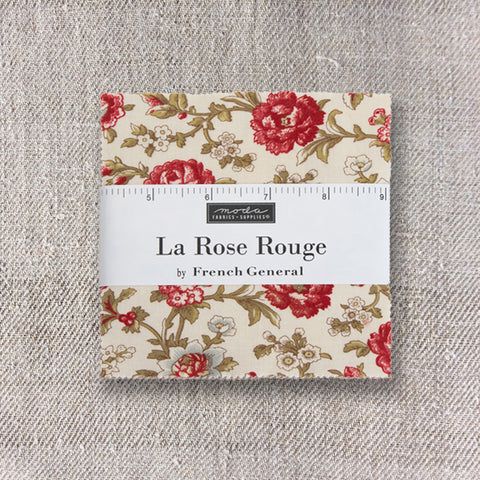 La Rose Rouge Charm Pack - Pre-Order September Delivery