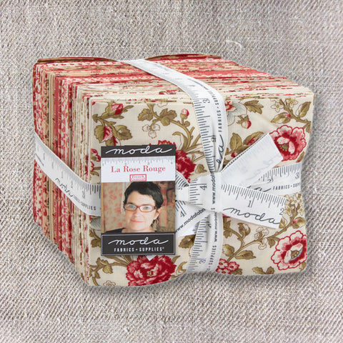 La Rose Rouge Fat Quarter Bundle - Pre-Order September Delivery
