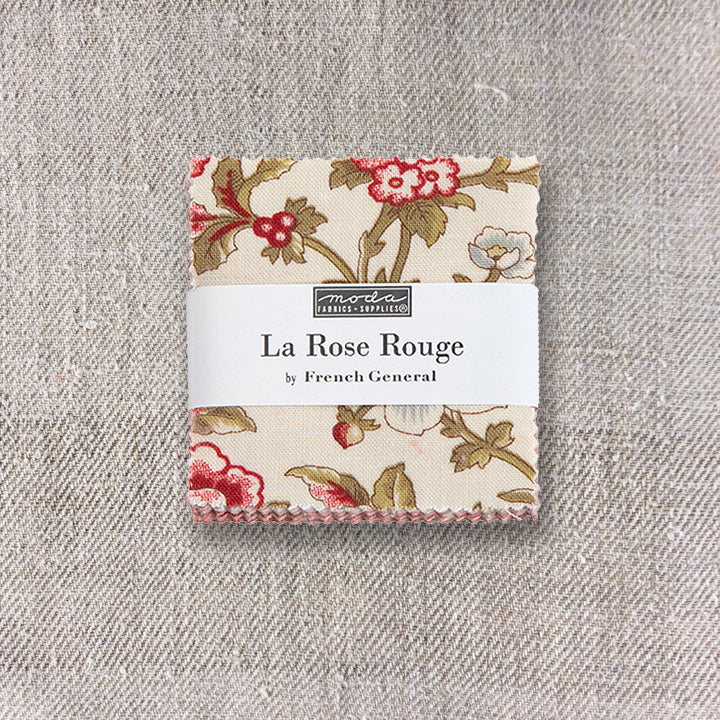 La Rose Rouge Mini Charm Pack