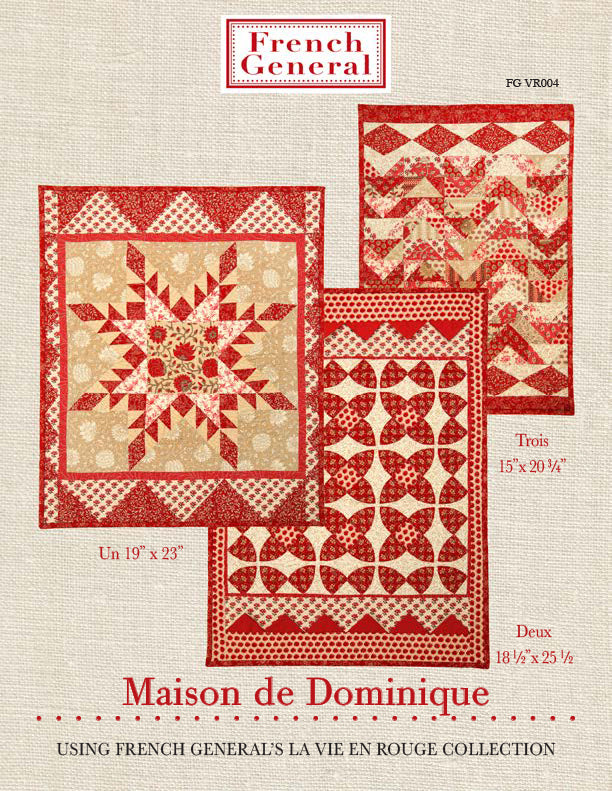 Dominique Quilt Pattern