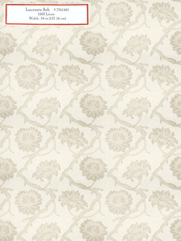 Home Decorative Fabric - Laureate Ash