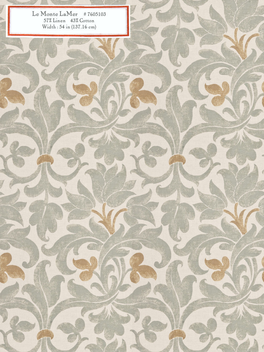 Home Decorative Fabric - Le Monte La Mer