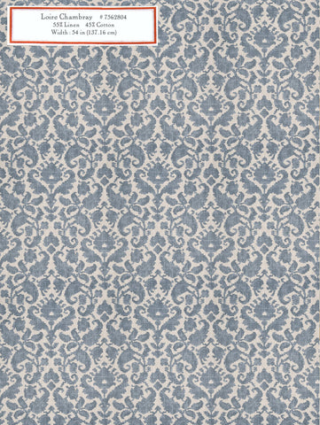 Home Decorative Fabric - Loire Chambray