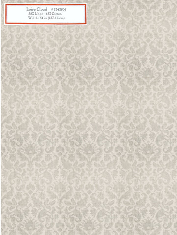 Home Decorative Fabric - Loire Cloud