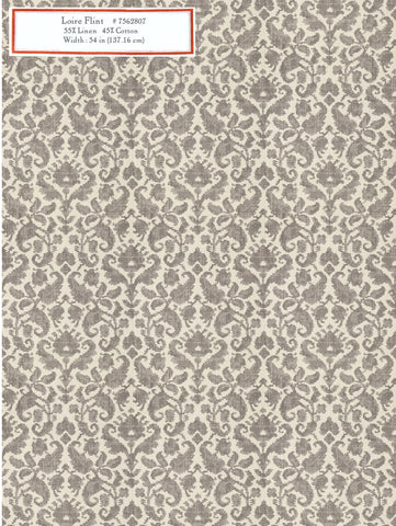 Home Decorative Fabric - Loire Flint