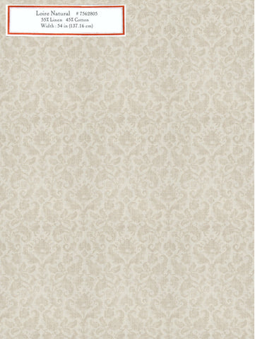 Home Decorative Fabric - Loire Natural