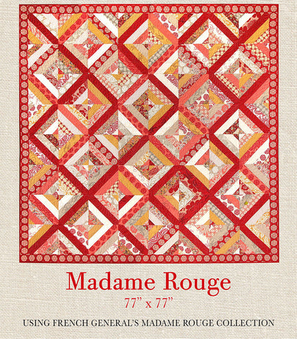 Madame Rouge - Madame Rouge Quilt Pattern