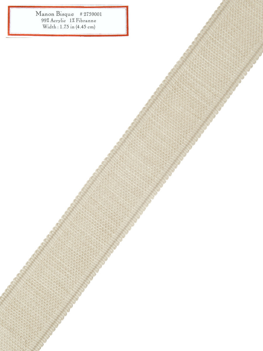 Home Decorative Trim - Manon Bisque